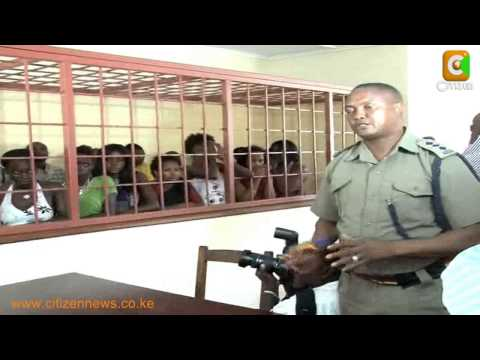 Strippers Arrested in Mombasa