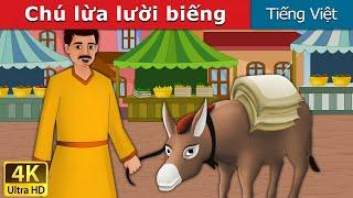 Chú lừa lười biếng | Lazy Donkey in Vietnamese | Vietnamese Fairy Tales | Truyện cổ tích việt nam