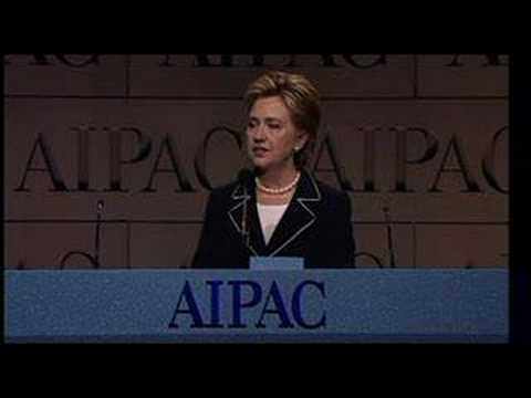 Senator Clinton Addresses AIPAC Policy Conference 2008