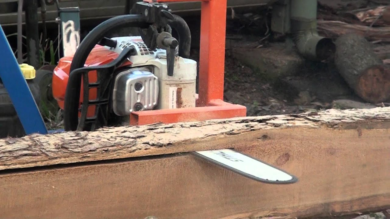 Chainsaw Mill Youtube