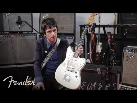 Fender Johnny Marr Jaguar Signature Model Guitar (Full Interview)