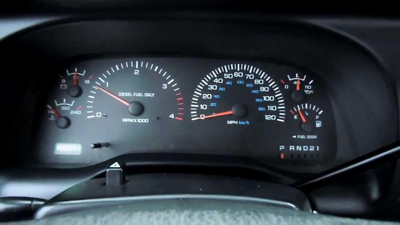 1999 Dodge Ram 2500 Cummins 24 valve Turbo Diesel DSCN0866 - YouTube