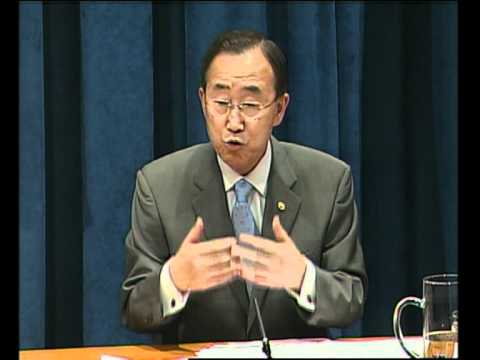 MaximsNewsNetwork: UN's BAN KI-MOON: POVERTY, SUSTAINABILITY, ENVIRONMENT, SOMALIA (UNTV)