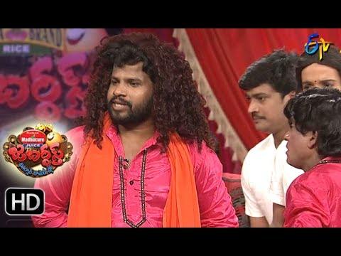Jabardasth Telugu Comedy Show ,28th July 2017,Hyper aadhi performance - ETV Telugu