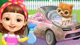 Sweet Baby Girl Cleanup 5 - Let's Play Messy House Makeover Fun Pet Care - Cleaning Games For Kids