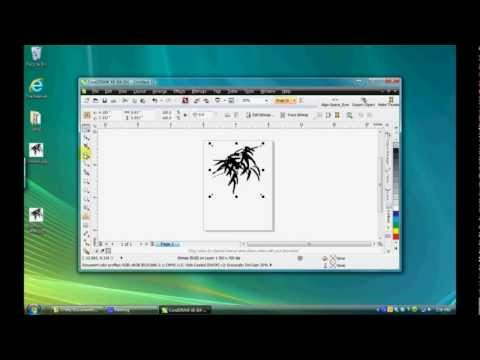 Preprocessing Raster Images In Corel PhotoPaint Before Vectorizing In CorelDRAW