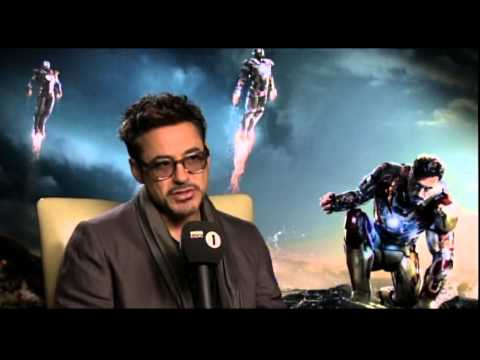 Robert Downey Jr Interview with Chris Stark - Scott Mills On Air Reaction