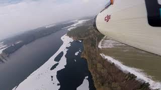 Beta 1400 FPV let nad Želivkou