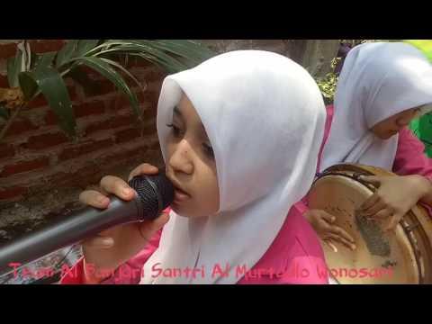 Suara merdu & cantik Sholawat Al Banjari Santri Al Murtadlo Wonosari
