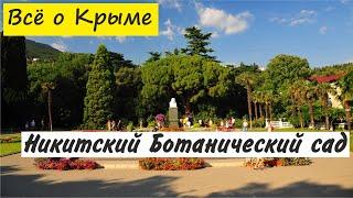 Никитский ботанический сад. Ялта. Достопримечательности Крыма.