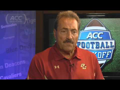 Boston College's Coach Spaziani on Replacing Kuechly