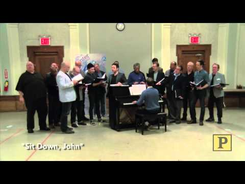 """Santino Fontana and Chritiane Noll Preview Encores! Production of """"1776"""""""