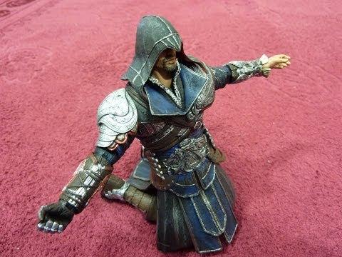 Игрушка из игры Assassins creed brotherhood 7 (17,5cm) Unpack Unboxing