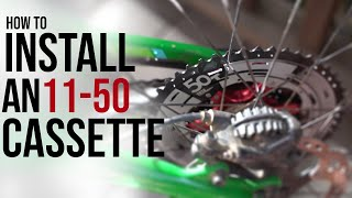 Sunrace 11-50 Cassette  how to replace + Shimano XT M8000