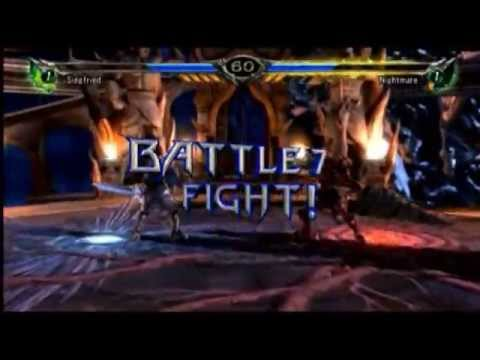 Soulcalibur 5 -  Siegfried VS. Nightmare