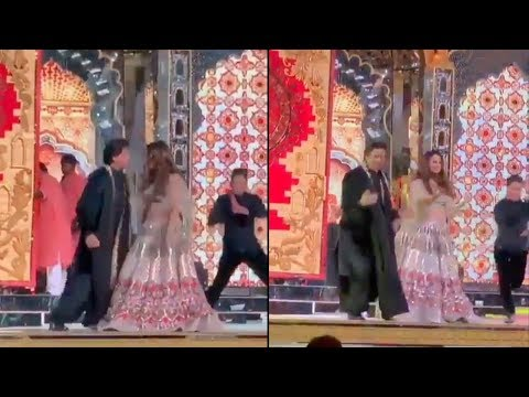Shah Rukh Khan And Gauri Khan's Crazy Dance On Delhi Wali Girlfriend At Isha Ambani Sangeet thumbnail