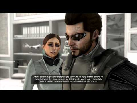 Deus Ex: Human Revolution DC - The Snake: Adam Jensen Rescues Megan Reed I Used Your DNA Chat