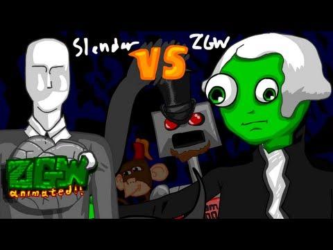 ZGW vs. SLENDER - ANIMATED