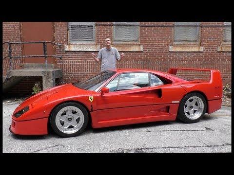 Вот почему Ferrari F40 стоит $1 300 000 ОБЗОР (Doug DeMuro на русском)