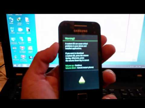 Flashing samsung galaxy ace GT S5830i repair bootloop