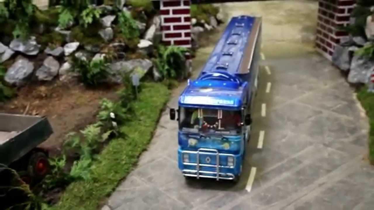 bagger lkw truck 1 6 1 8 scale model diorama. Black Bedroom Furniture Sets. Home Design Ideas