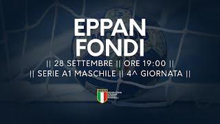 Serie A1M [4^]: Eppan - Fondi 22-22