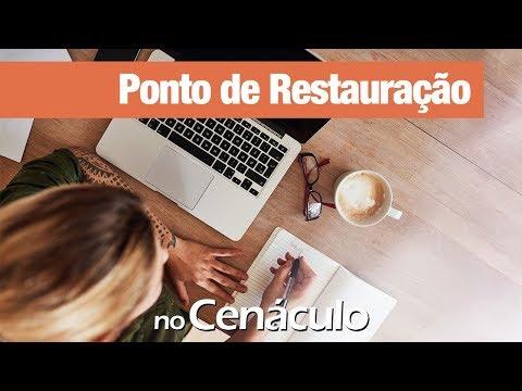 Ponto de Restauração | no Cenáculo 14/06/2019