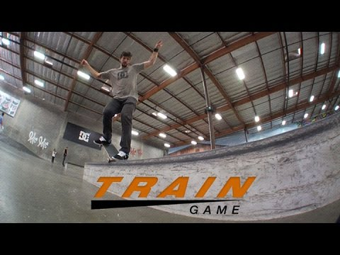 Train Game with Chris Cole, Mike Mo, Mikey Taylor, and Ronnie Creager