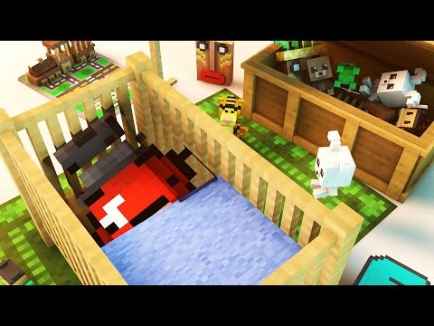 THE BIRTH OF APPLE! (Minecraft Roleplay)