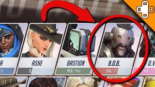 B.O.B. is HERO 30??? Overwatch Funny & Epic Moments 669