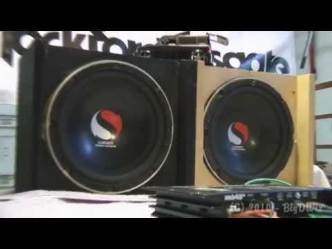 Old School Rockford Fosgate Punch 45HD vs. Kicker Solobaric Subs