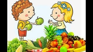 Names of Fruit and Vegetables Wooden Toys Cutting Fruit Education videos Fun for Kids