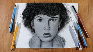 "How To Draw ""Eleven"" Character from Stranger Things"