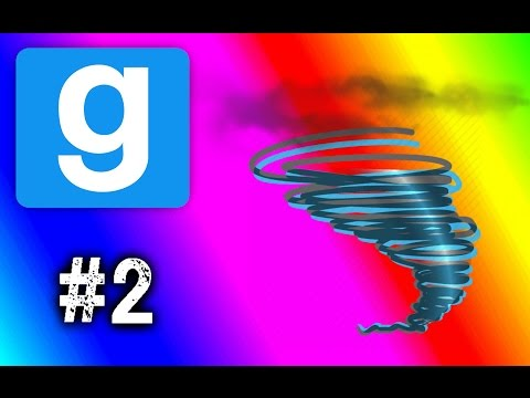 Night Time Tornado! Garry's Mod Tornado Survival S5E2