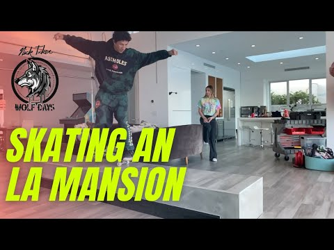 Skating An LA Mansion (CRAZY) featuring Kirill From ASSHOLESLIVEFOREVER