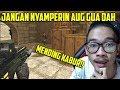 NYAMPERIN AUG A3 GUA ?? MENDING KABUR DAH !! POINT BLANK GARENA INDONESIA