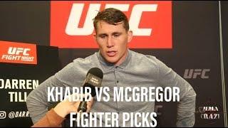UFC 229: Khabib Nurmagomedov vs. Conor McGregor Fighter Picks