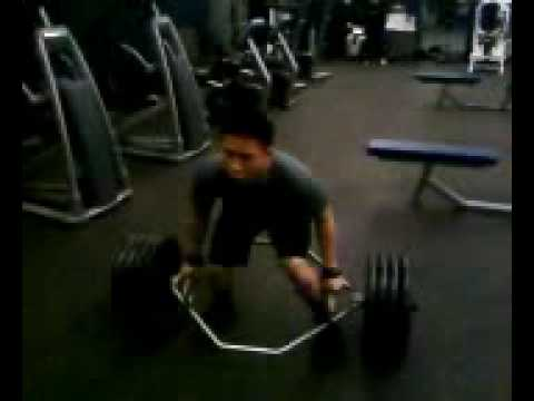 0 Trap Bar Deadlift 405 x 4 (152lb Asian)