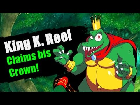 King K Rool In Super Smash Bros Wii U3DS DLC Moveset