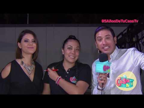 EL COLOR DEL 5TO ANIVERSARIO I EL CHOCKS  Y WENDY SALGADO I TU CASA TV I