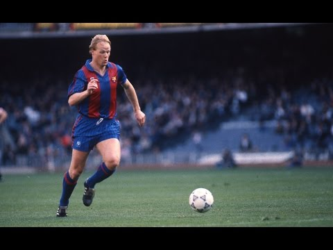 25 años del debut de Ronald Koeman con el Barça