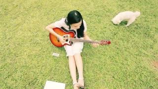 Ngõ vắng xôn xao ( guitar acoustic) - Lương Giang