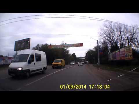 Сбили собаку 01.09.2014