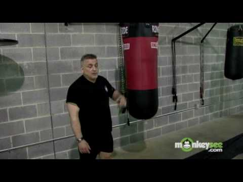 Heavy Bag Boxing Drills - Burpies Image 1