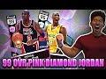 Lagu THE GOAT! 99 OVR PINK DIAMOND MICHAEL JORDAN IS OVERPOWERED! NBA 2K17 MYTEAM