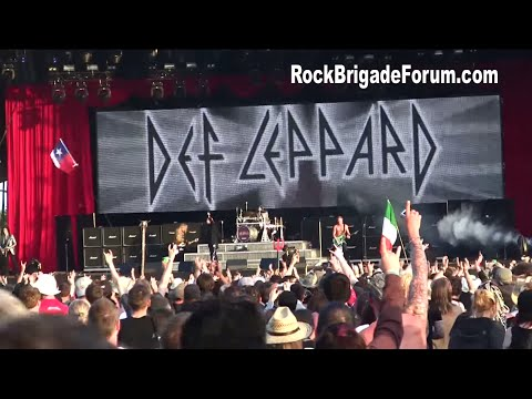 RARE DEF LEPPARD THE RETURN TO DONINGTON UK DOWNLOAD FESTIVAL