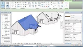 Download Revit  Architecture 7 hus med tak och fönster 3Gp Mp4