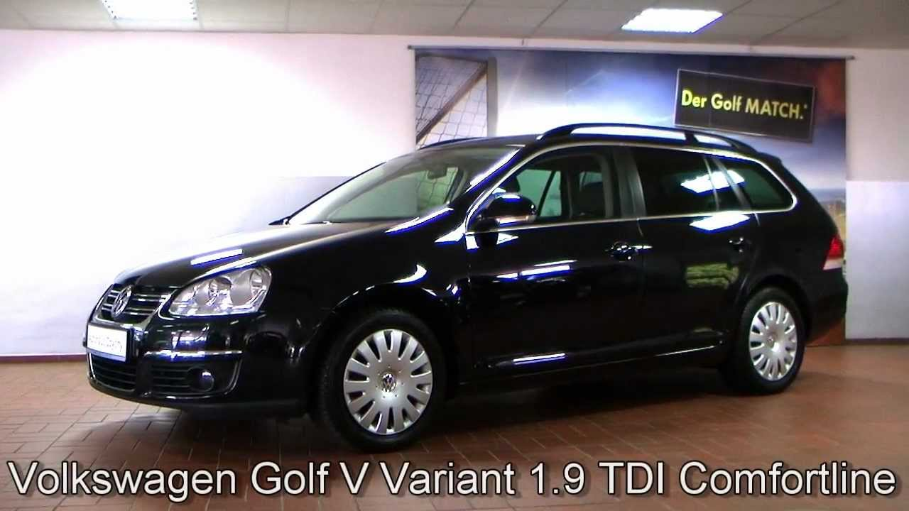 volkswagen golf v variant 1 9 tdi comfortline deep black perleffekt 8m322984. Black Bedroom Furniture Sets. Home Design Ideas