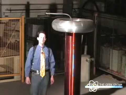 Gemini Demo Video - Large Bipolar Tesla Coil