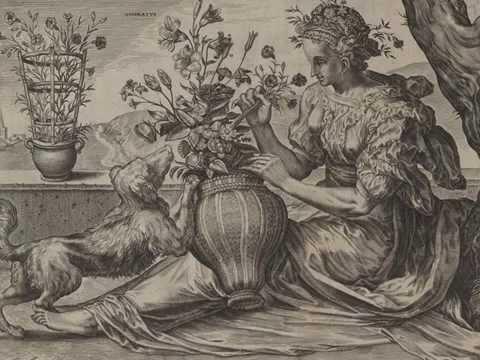 Henry Purcell. Fantasía para cuatro violas en si bemol mayor Z.736 - Cornelis Cort
